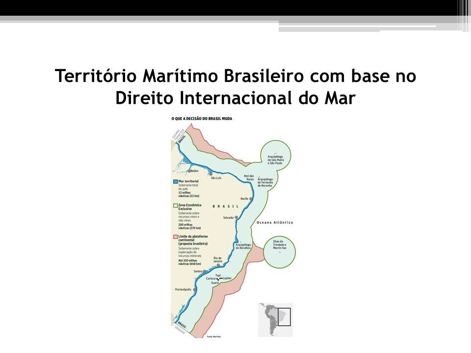 Território Marítimo Brasileiro com base no Direito Internacional do Mar