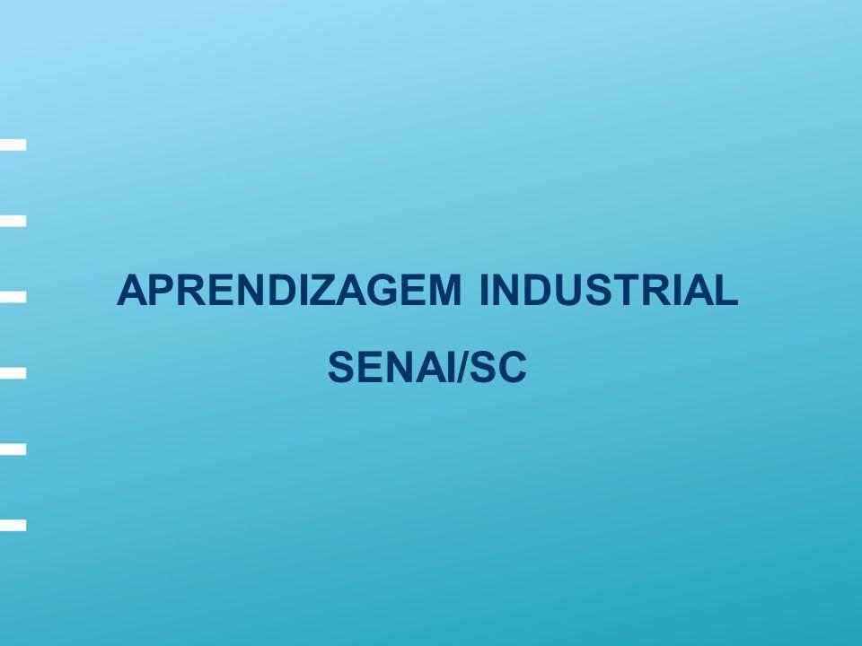 APRENDIZAGEM INDUSTRIAL SENAI/SC