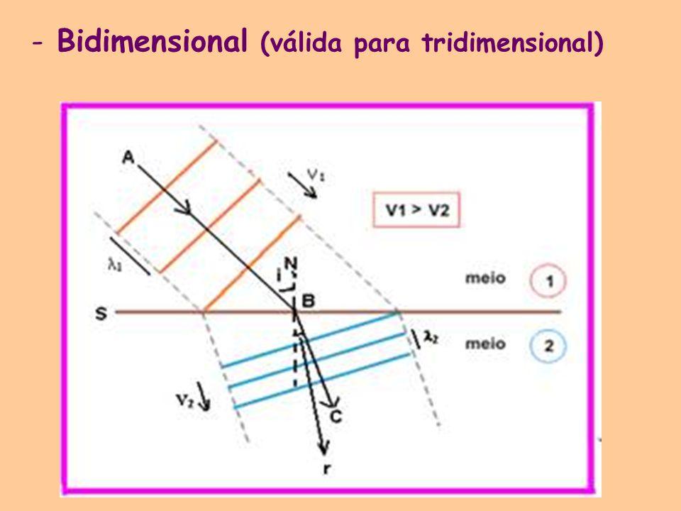 -Bidimensional (válida para tridimensional)
