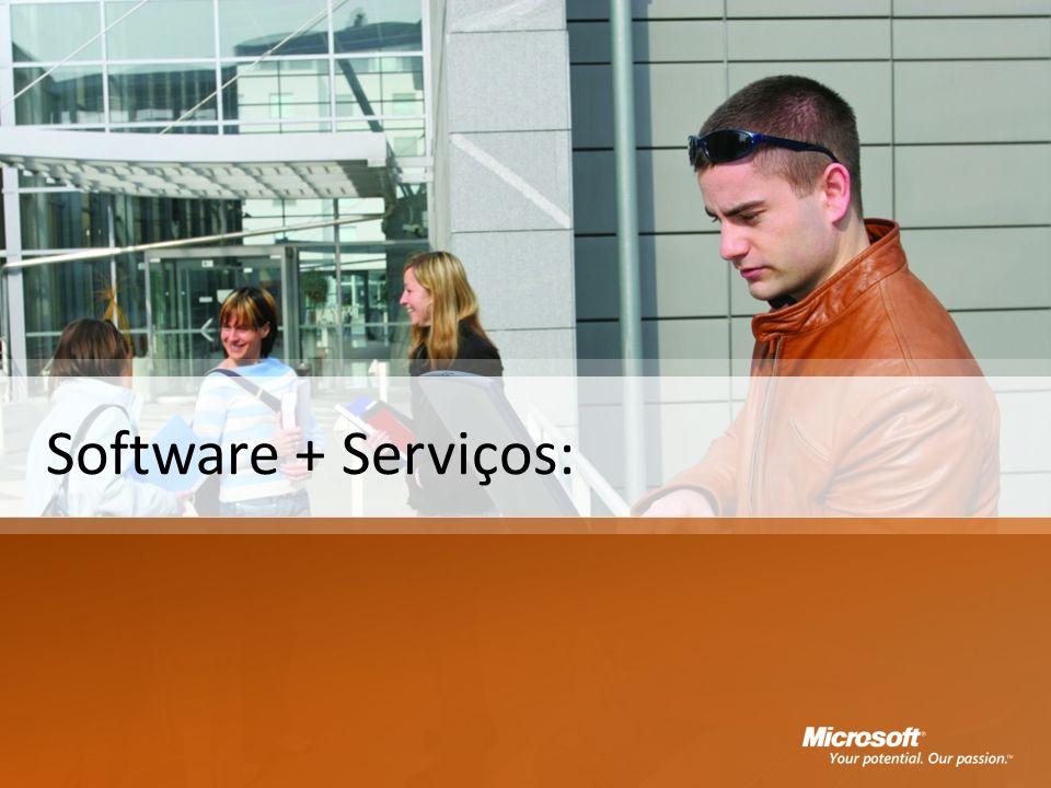 Software + Serviços: