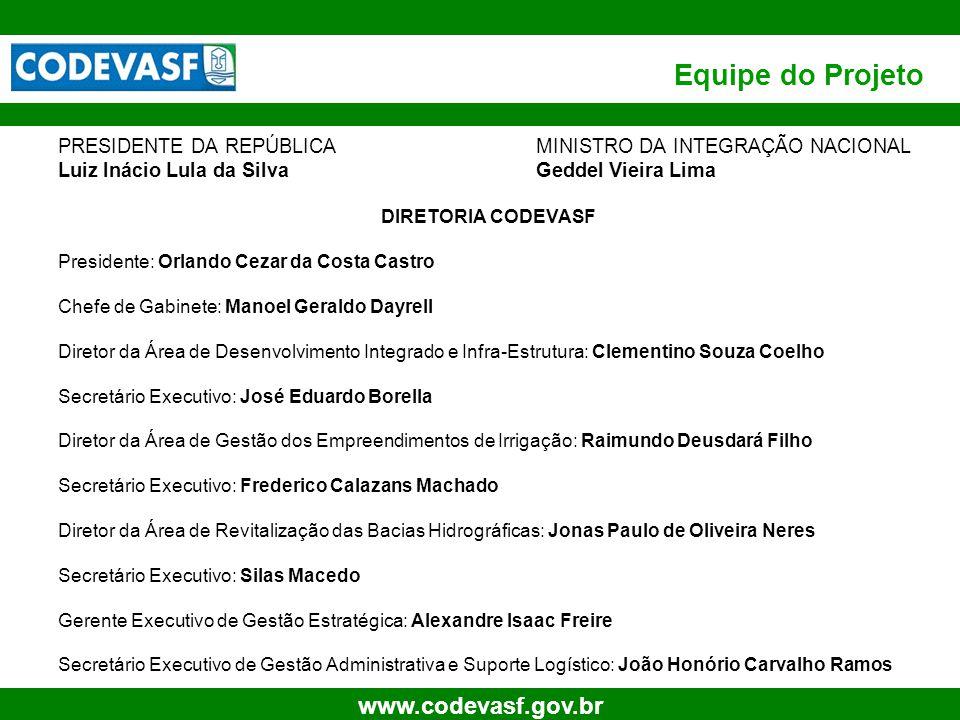 3 www.codevasf.gov.br Estrutura do Documento Introdução Modelo de Negócio Proposto Simulações para Sustentabilidade Econômica Perímetros Irrigados (CODEVASF)