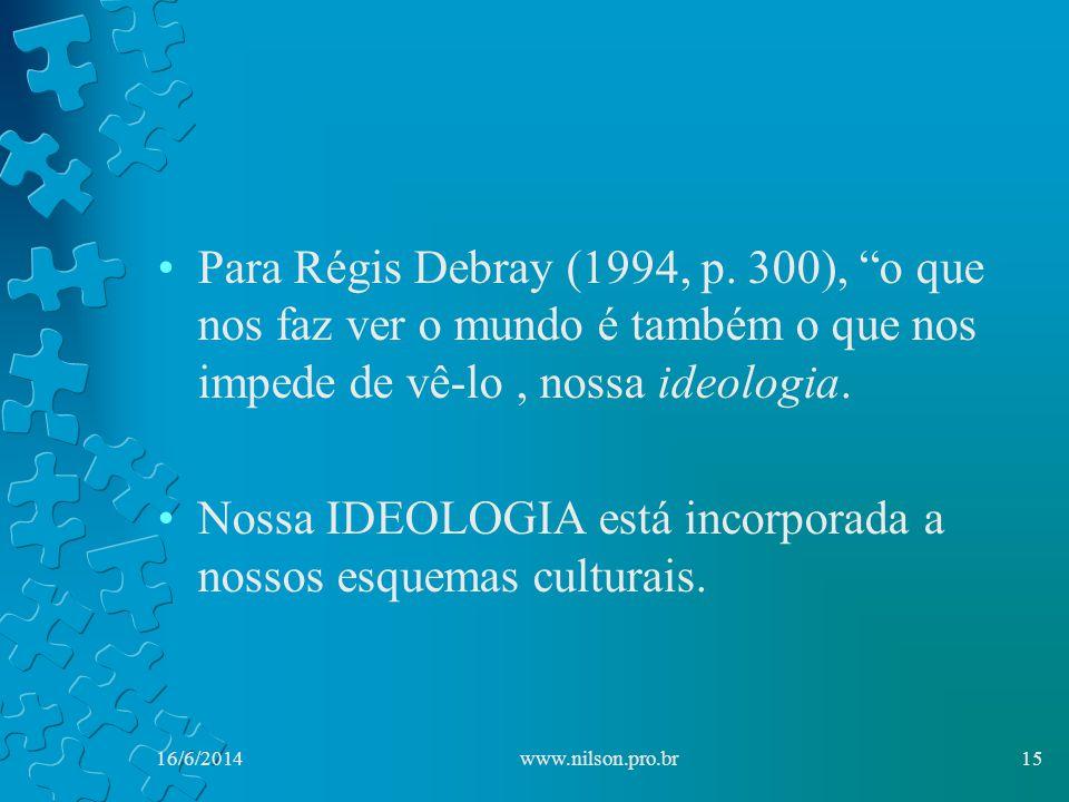 Para Régis Debray (1994, p.