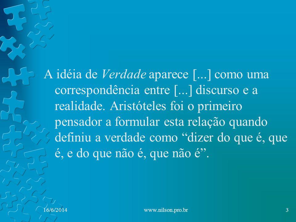 16/6/201414www.nilson.pro.br