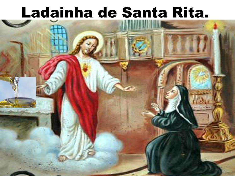 Ladainha de Santa Rita.