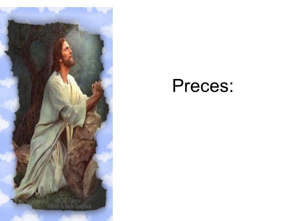 Preces: