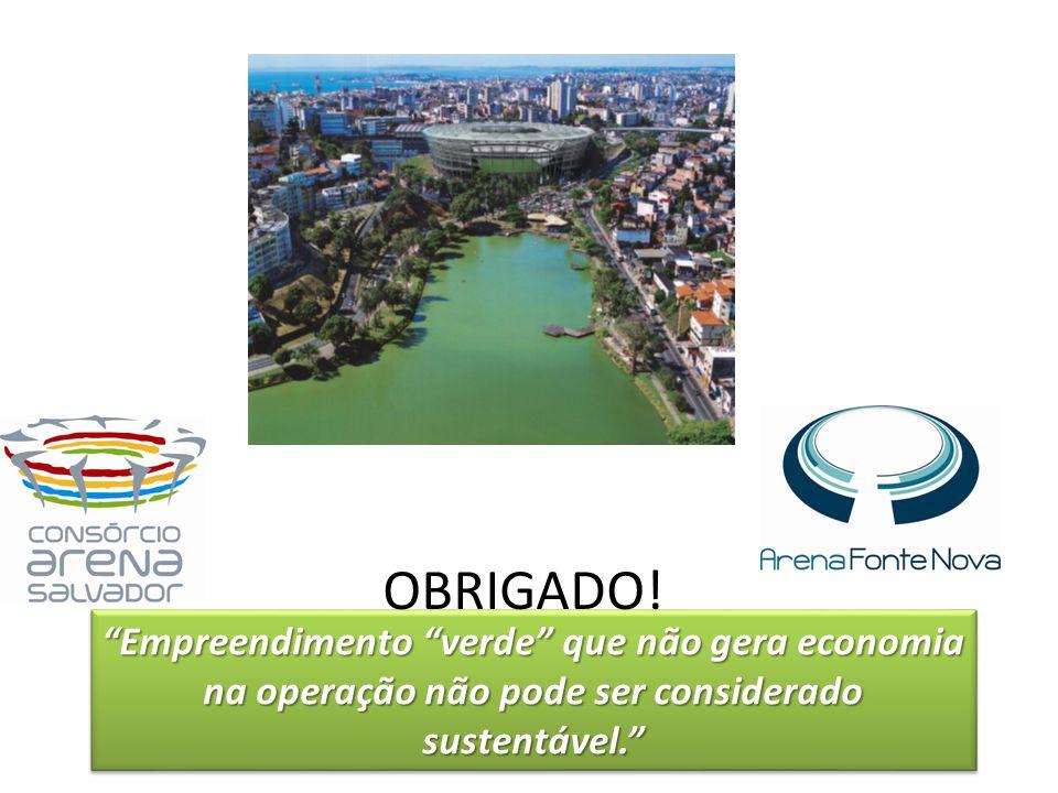 Empreendimento verde que não gera economia na operação não pode ser considerado sustentável.Empreendimento verde que não gera economia na operação não