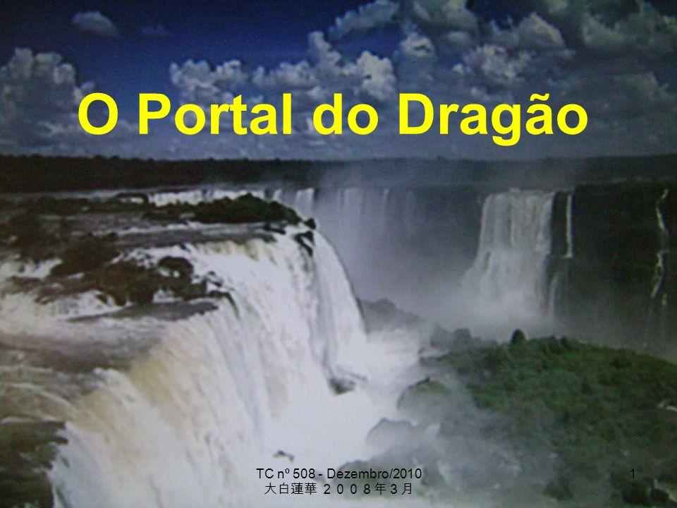 TC nº 508 - Dezembro/2010 1 O Portal do Dragão