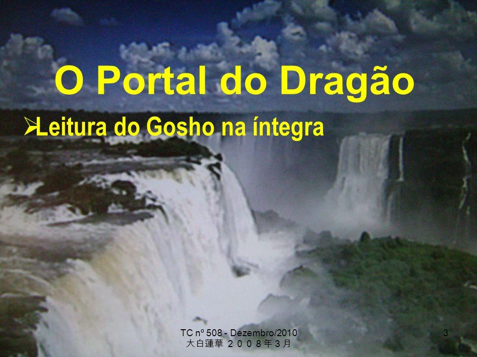 TC nº 508 - Dezembro/2010 3 O Portal do Dragão Leitura do Gosho na íntegra