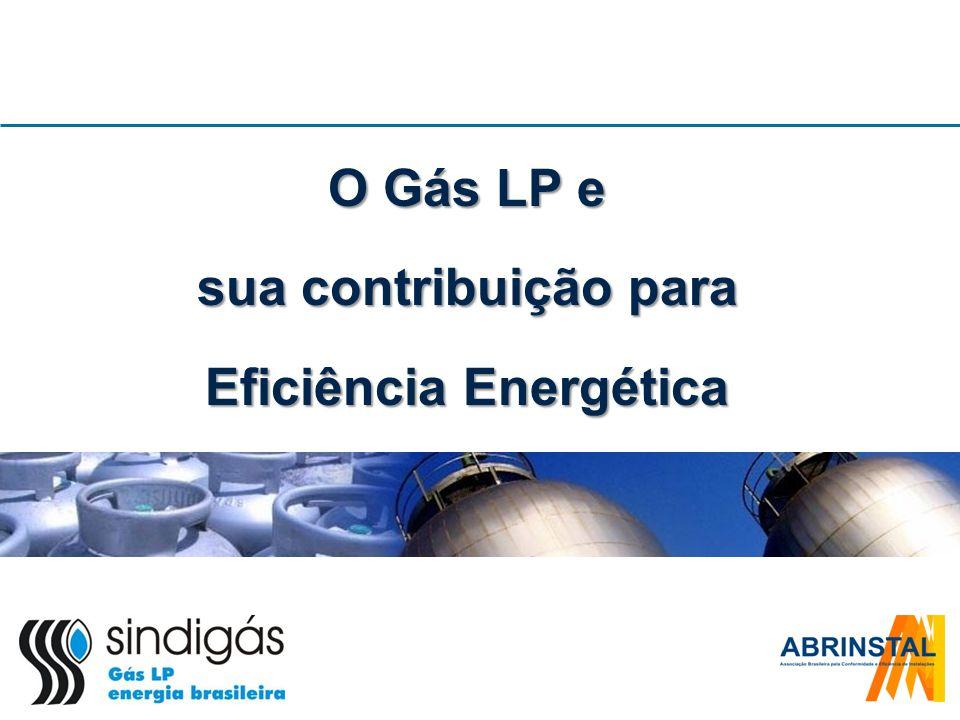 Apresentação Contextualização da eficiência e o papel do gás LP Custos envolvidos na adoção do gás LP Histórico do trabalho junto ao Sindigás Desafios para o futuro O modelo de etiquetagem de edifícios eficientes