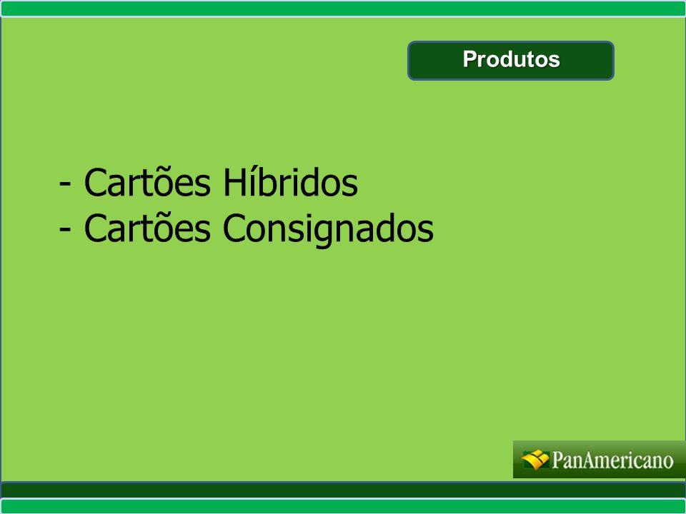 - Cartões Híbridos - Cartões Consignados Produtos Produtos