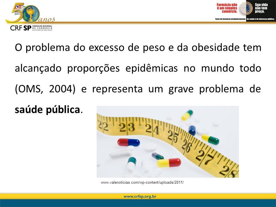 O problema do excesso de peso e da obesidade tem alcançado proporções epidêmicas no mundo todo (OMS, 2004) e representa um grave problema de saúde púb