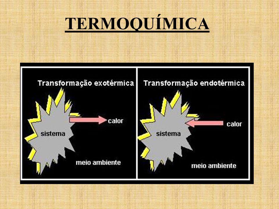 Numa reação exotérmica o meio ambiente ganha calor (aumento=variação positiva) à custa do sistema em reação que perde energia ( diminuição=variação negativa).