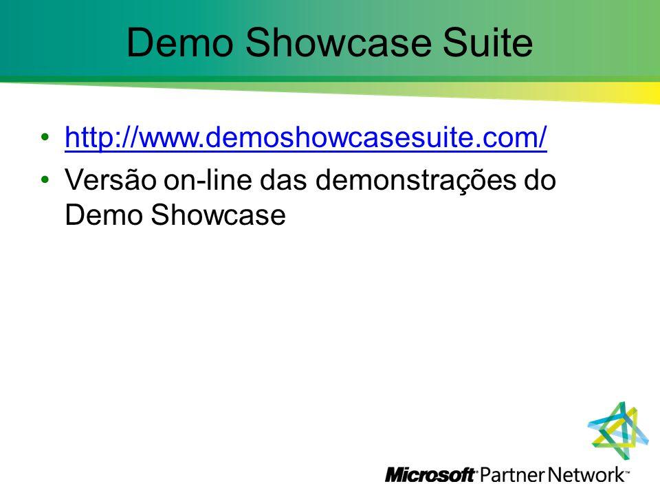 Demo Showcase Suite http://www.demoshowcasesuite.com/ Versão on-line das demonstrações do Demo Showcase