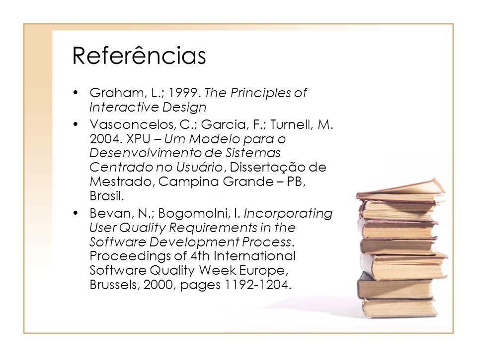 Referências Graham, L.; 1999.