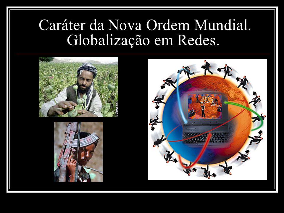 Caráter da Nova Ordem Mundial. Globalização em Redes.