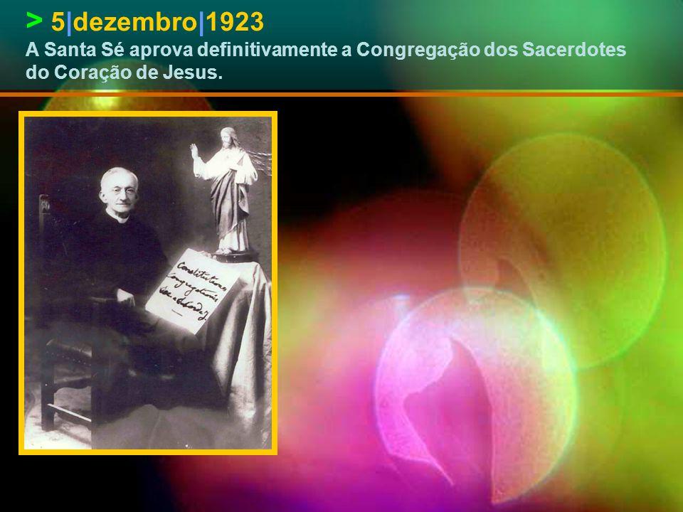 > 18|maio|1920 Bênção da primeira pedra da Basílica de Cristo-Rei, em Roma, mandada erigir por vontade de Leão Dehon.
