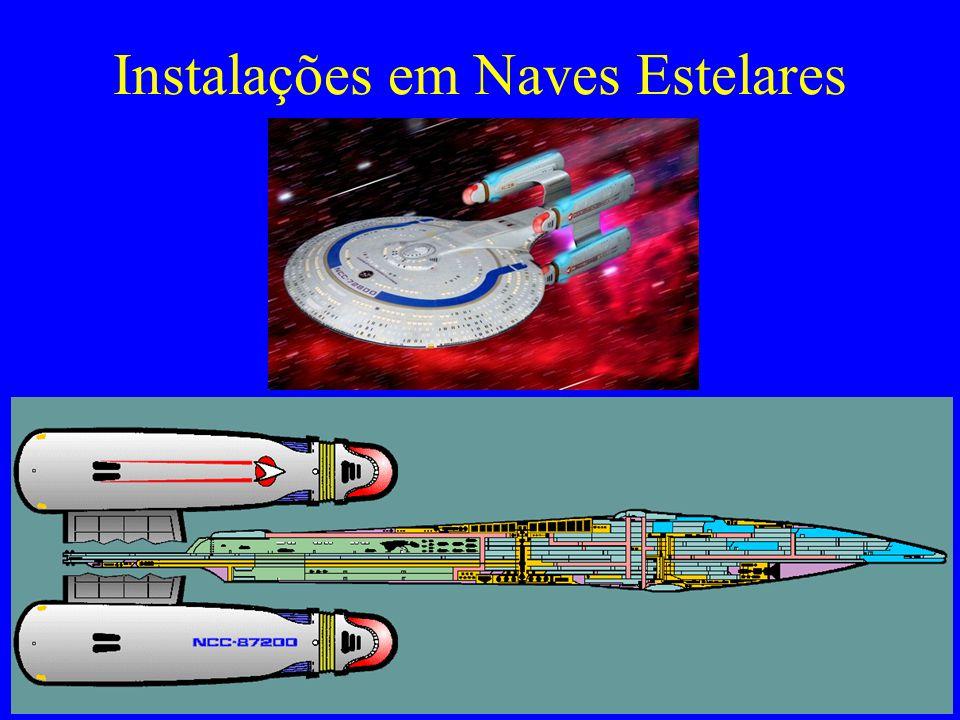 Instalações em Naves Estelares