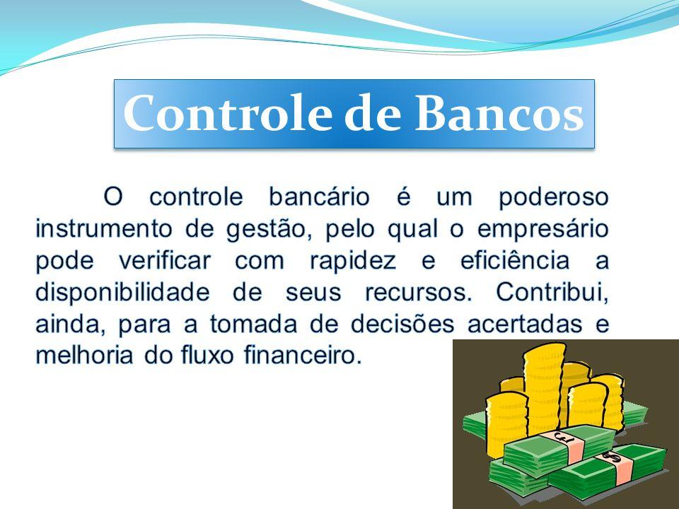 CAMPO 10 Saldo final do controle bancário.