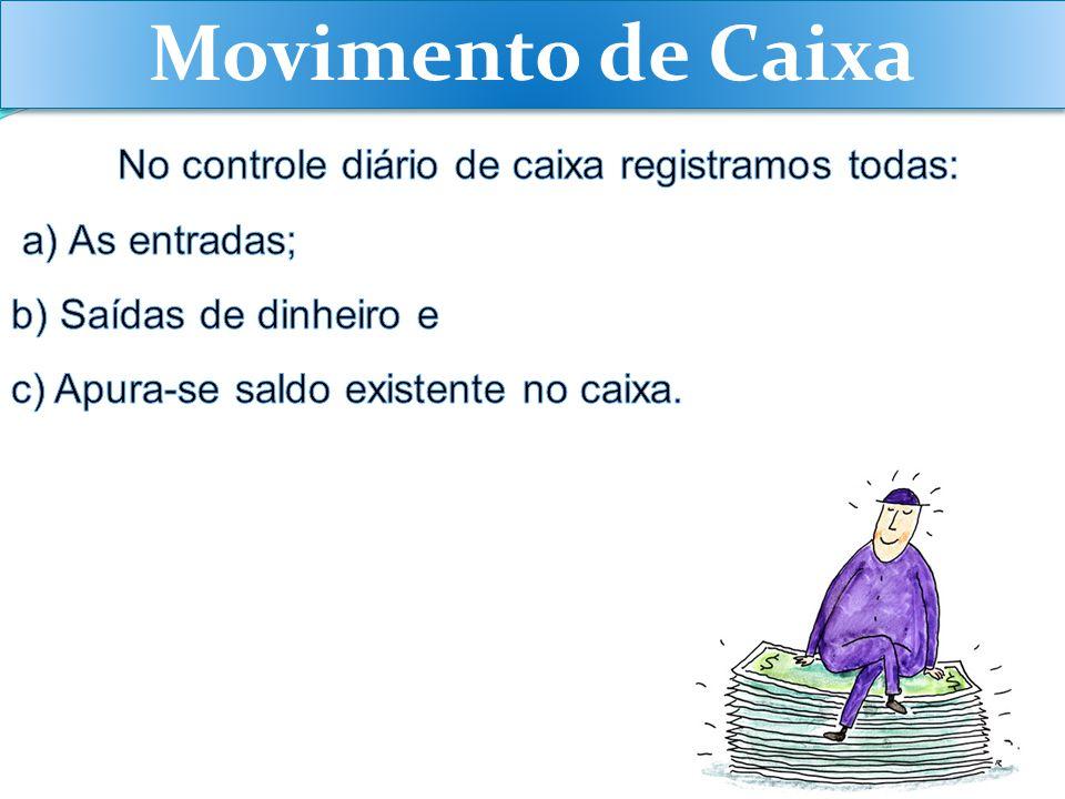 Movimento de Caixa