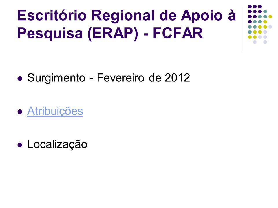 Principais Atividades desenvolvidas no ERAP Homepage Treinamento do ERAP Auxílio nas Prestação de Contas