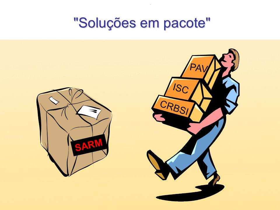 Soluções em pacote Soluções em pacote PAV ISC CRBSI SARM