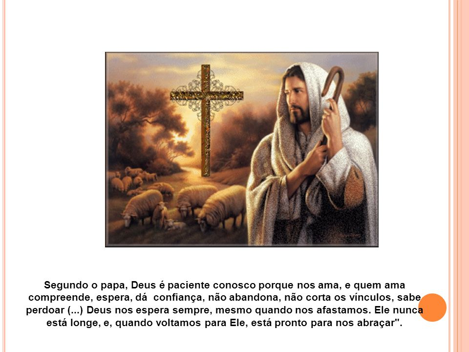 O Papa Francisco continuou recordando a história dos dois discípulos de Emaús: