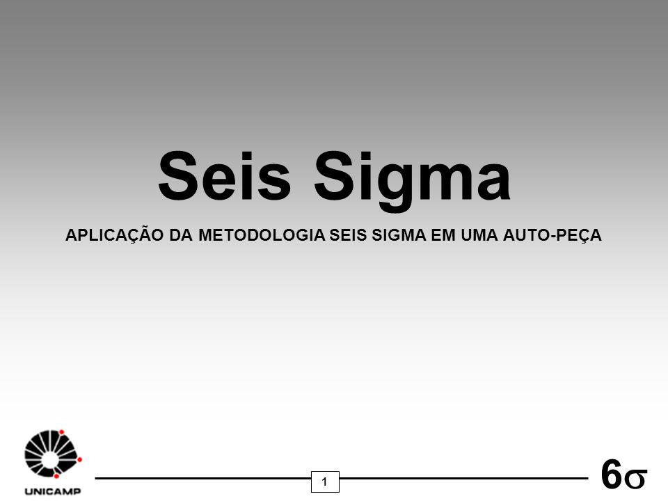 1 6 Seis Sigma APLICAÇÃO DA METODOLOGIA SEIS SIGMA EM UMA AUTO-PEÇA