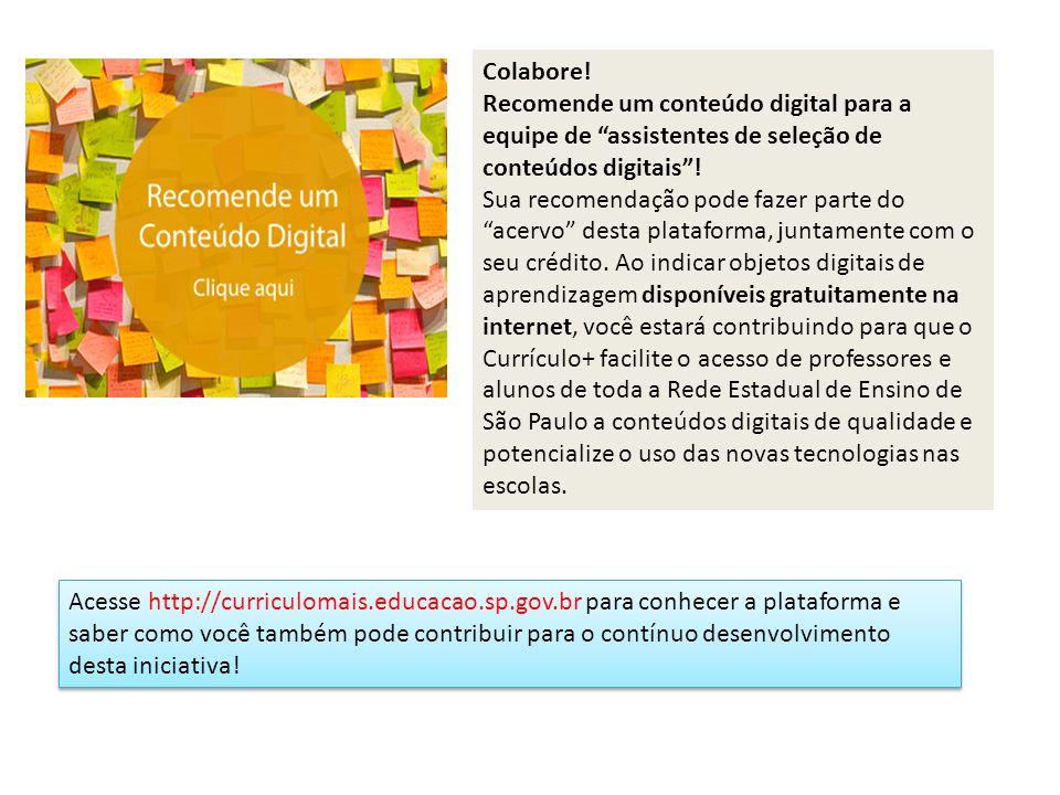 http://curriculomais.educacao.sp.gov.br
