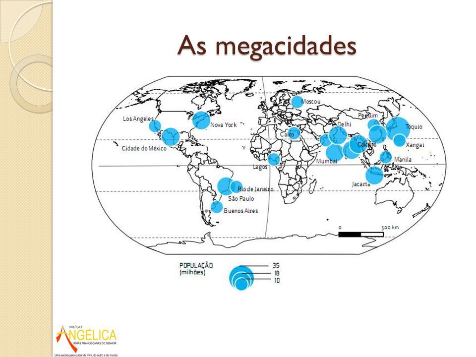As megacidades