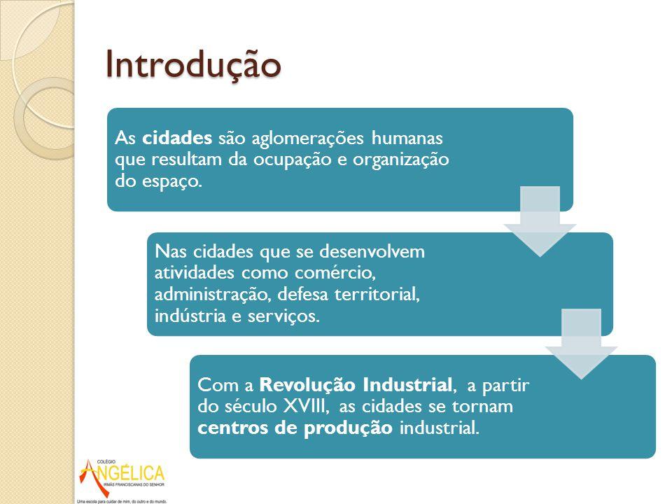 Relação Campo X Cidade CIDADES: capital,tecnologia e produtos industrializados ÁREAS RURAIS: alimentos e matérias-primas