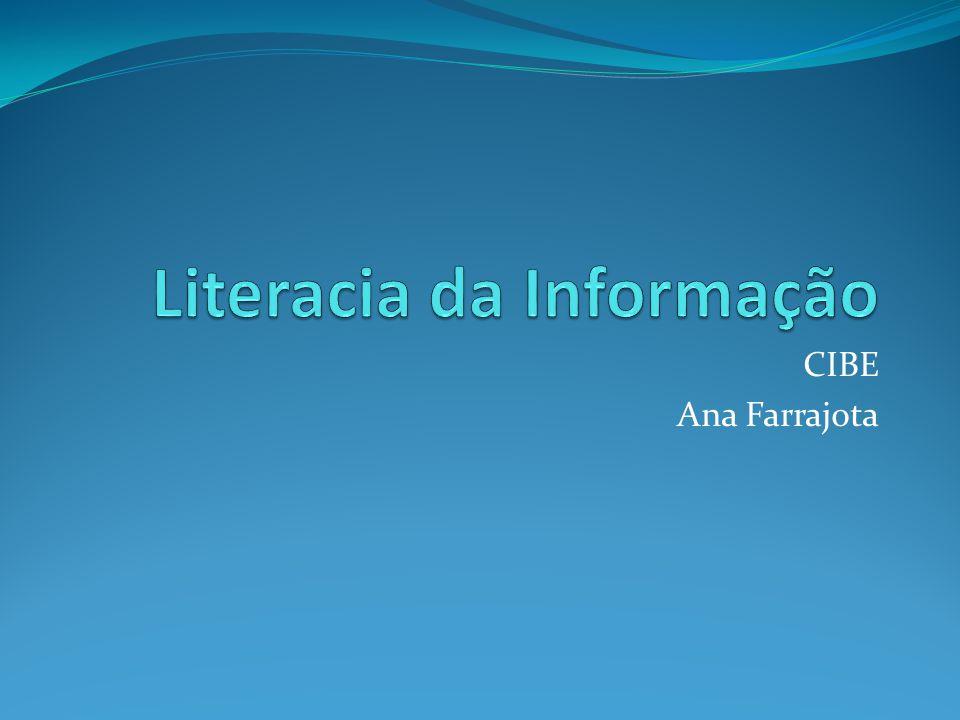 Literacia da Informação Identificar pontos de vista, diversidade e influência cultural.