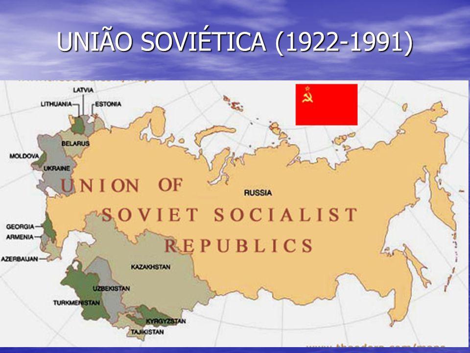 UNIÃO SOVIÉTICA (1922-1991)