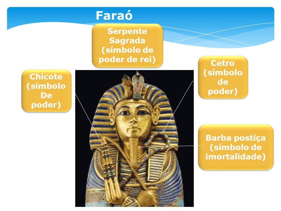 Chicote (símbolo De poder) Chicote (símbolo De poder) Cetro (símbolo de poder) Cetro (símbolo de poder) Serpente Sagrada (símbolo de poder de rei) Ser