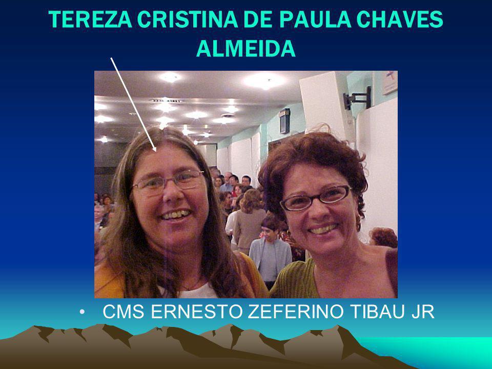 TEREZA CRISTINA DE PAULA CHAVES ALMEIDA CMS ERNESTO ZEFERINO TIBAU JR