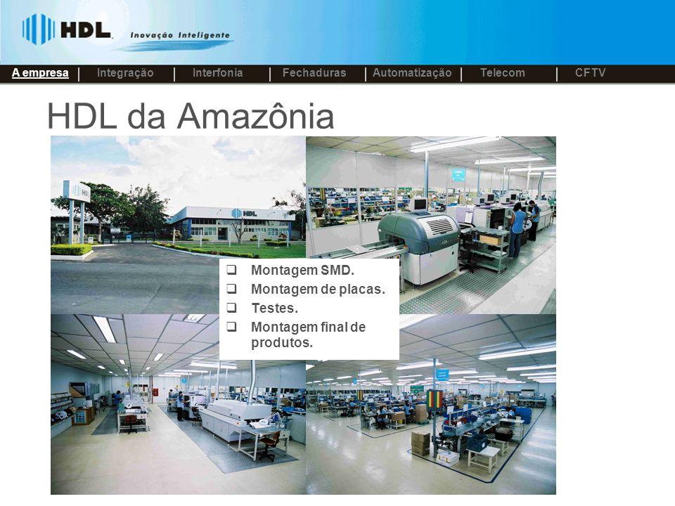 HDL – Nosso diferencial Tecnologia própria em sua linha de produtos Constante inovação - P&D.