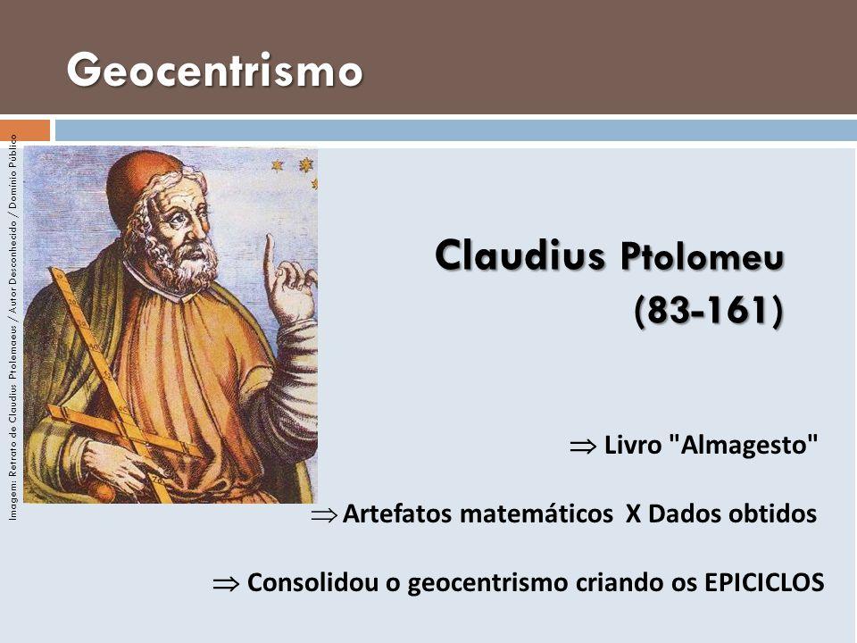 Claudius Ptolomeu (83-161) Livro