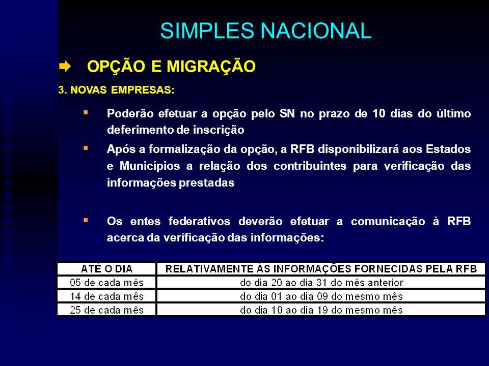 OPÇÃO E MIGRAÇÃO 3.