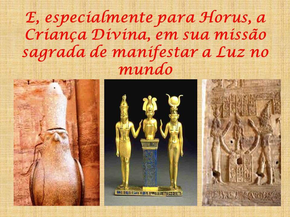 ... E para os seus Templos e Lugares Sagrados, verdadeiros centros de força ao longo da coluna vertebral do Nilo