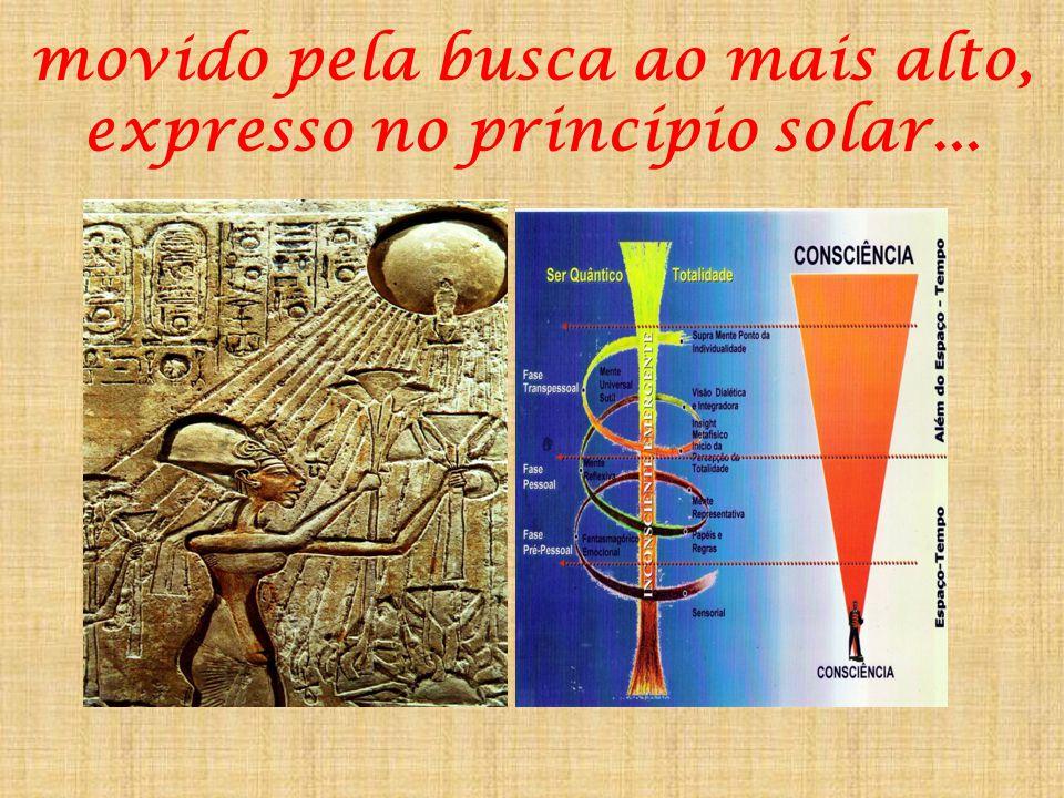 Na Jornada por uma civilização que expressou aspectos da sua espiritualidade na Geometria Sagrada dos raios solares e da imagem da Colina Primordial..