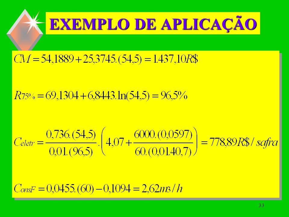 32 EXEMPLO DE APLICAÇÃO