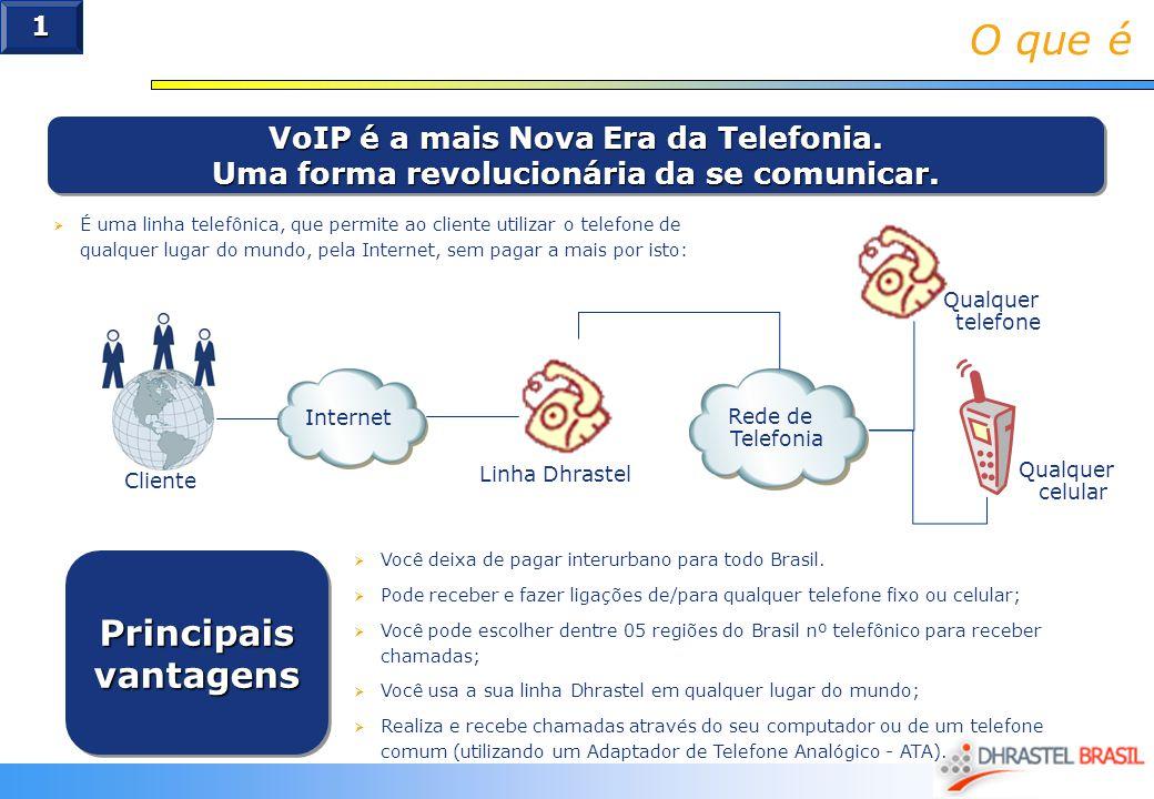 O que é VoIP é a mais Nova Era da Telefonia. Uma forma revolucionária da se comunicar. VoIP é a mais Nova Era da Telefonia. Uma forma revolucionária d