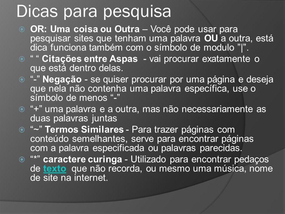 Questão Caso se digite, na caixa de pesquisa do Google, o argumento crime eleitoral site:www.tre-rj.gov.br, será localizada a ocorrência do termo crime eleitoral, exatamente com essas palavras e nessa mesma ordem, apenas no sítio www.tre-rj.gov.br.