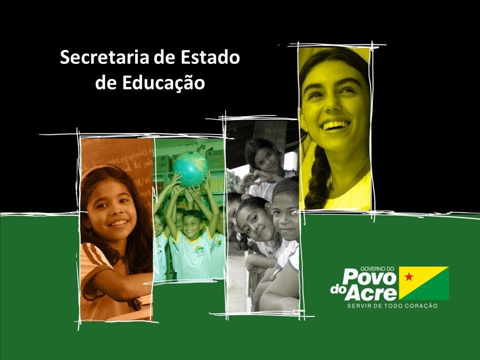 Pacto pela Educação 2011 Secretaria de Estado de Educação