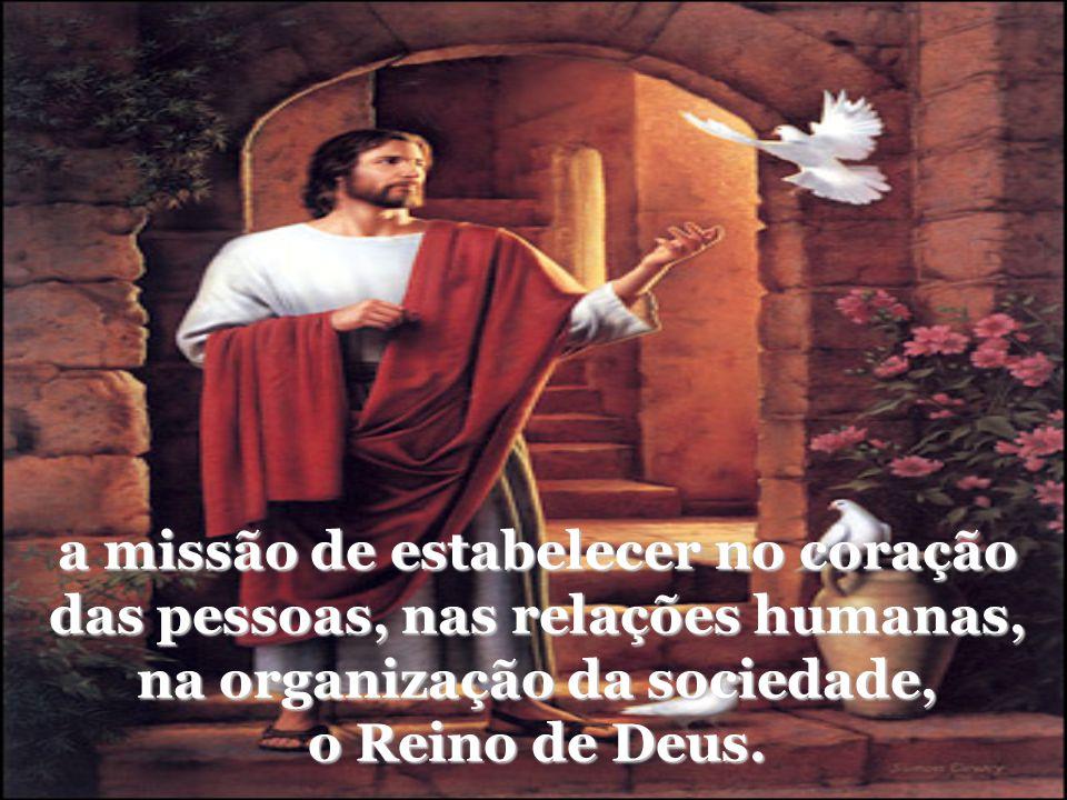 Após a sua Ressurreição Jesus se manifestou e confirmou seus discípulos e suas discípulas para a Missão de continuarem no mundo a obra por ele iniciad