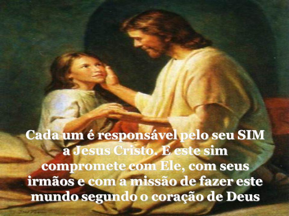 Seguir Jesus Cristo é um dom e, ao mesmo tempo, uma atitude pessoal de liberdade e de doação por amor especial a Ele e à sua causa