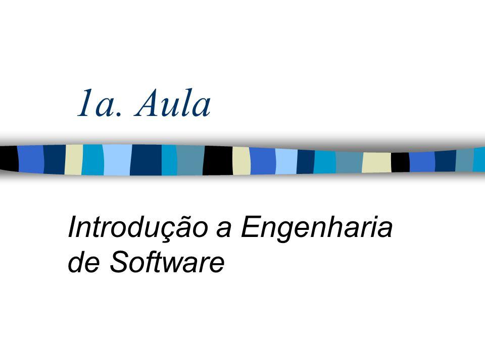 Introdução n O Software ultrapassou o Hardware como chave para o sucesso de muitos sistemas baseados em computador (Pressman, pg.