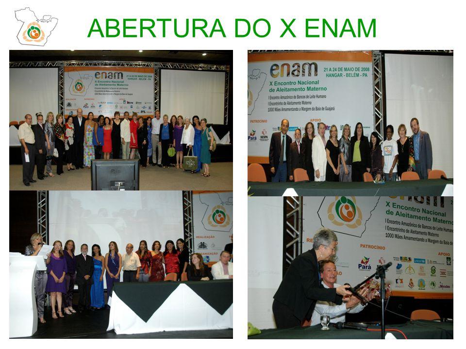ABERTURA DO X ENAM