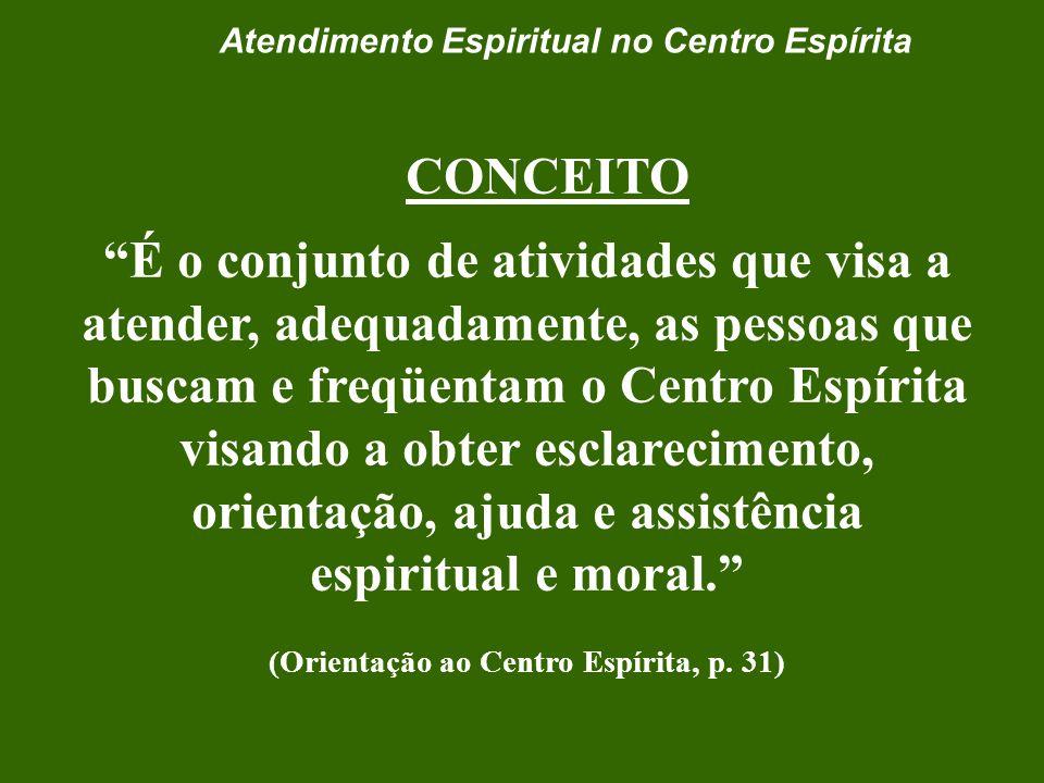 Setor do Atendimento Espiritual no Centro Espírita