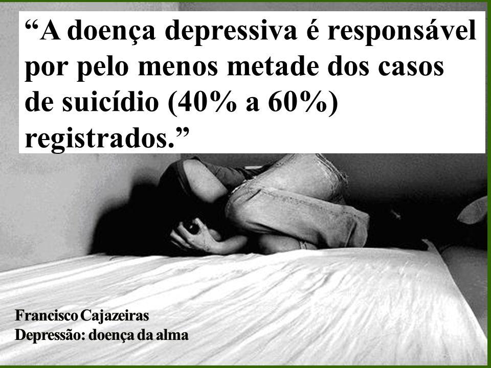 Cerca de 15% dos seus portadores cometem suicídio. Os pacientes do sexo masculino suicidam-se mais, em proporção de 4:1.