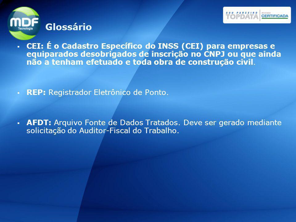 ACJEF: Arquivo de Controle de Jornada para Efeitos Fiscais.